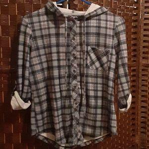 Joe Boxer Hooded Shirt